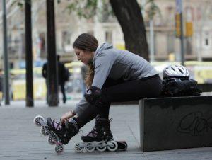 pattini a rotelle da strada